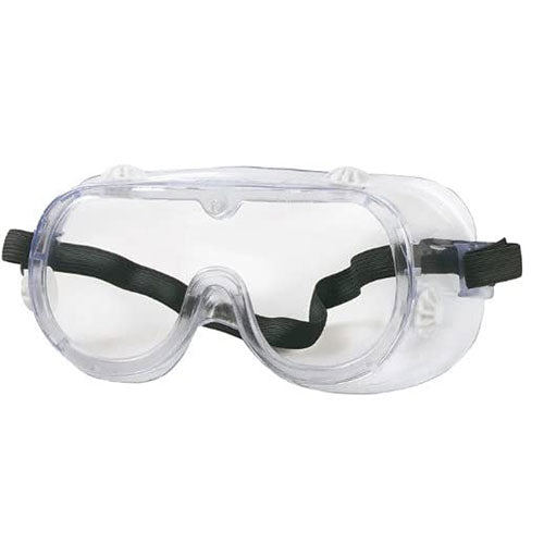 Splash Goggles with Adjustables Straps &Covered Side Vents (Anti-Fog) - Splash Goggles - Mountainside Medical Equipment
