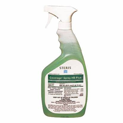 Steris Surface Disinfectant Cleaner Coverage Spray HB 22 oz, (12/Case)