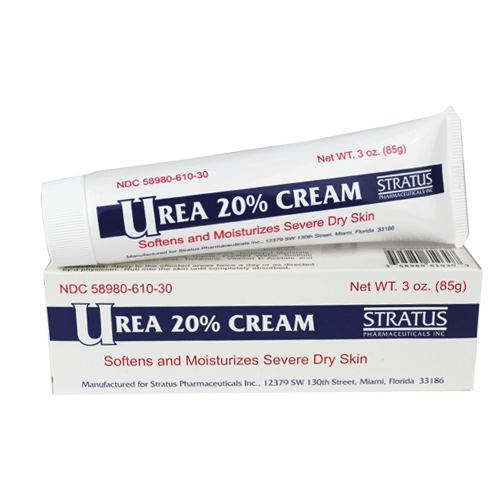 Stratus Urea 20% Cream, 3 oz