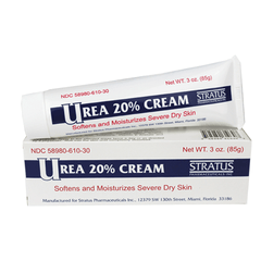 Buy Stratus Urea 20% Cream, 3 oz by Stratus Pharmaceuticals | SDVOSB - Mountainside Medical Equipment