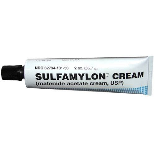 Sulfamylon Mafenide Acetate Topical Burn Cream