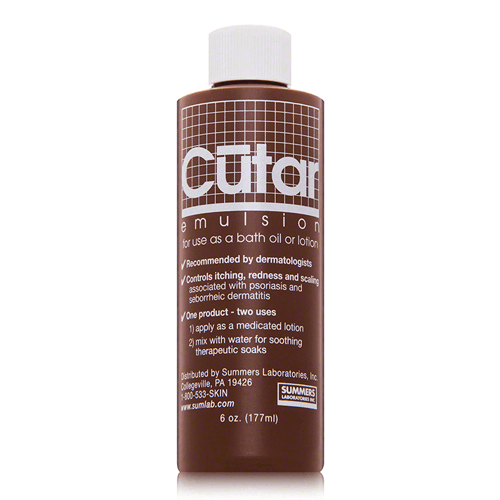 Buy Cutar Emulsion Skin Care Lotion for Eczema & Psoriasis online used to treat Dermatitis Skin Treatment - Medical Conditions