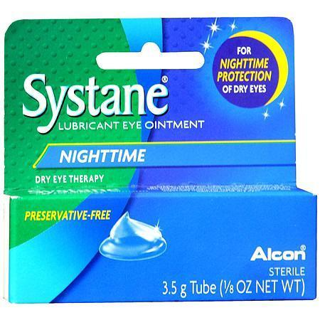 Buy Systane Nighttime Eye Relief Lubricant Ointment for Dry Eyes online used to treat Lubricant Eye Ointment - Medical Conditions