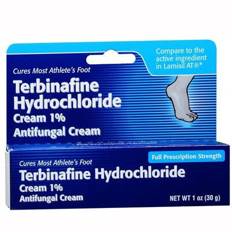 Buy Terbinafine Hydrochloride Cream 1 % used for Antifungal Medications by Taro