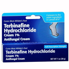 Buy Terbinafine Hydrochloride Cream 1 % online used to treat Antifungal Medications - Medical Conditions