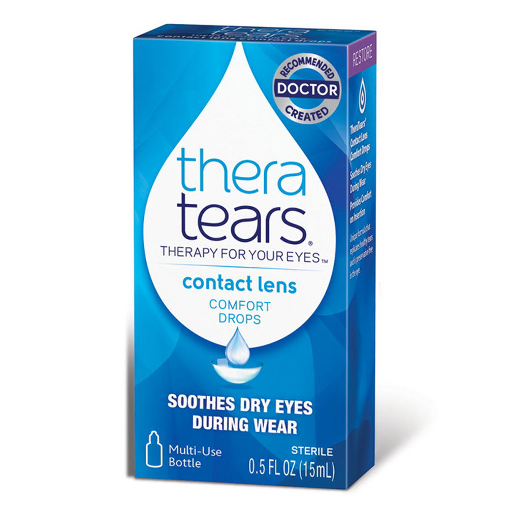 Buy Thera Tears Contact Lens Comfort Drops, 15mL online used to treat Dry Eye Relief Drops - Medical Conditions