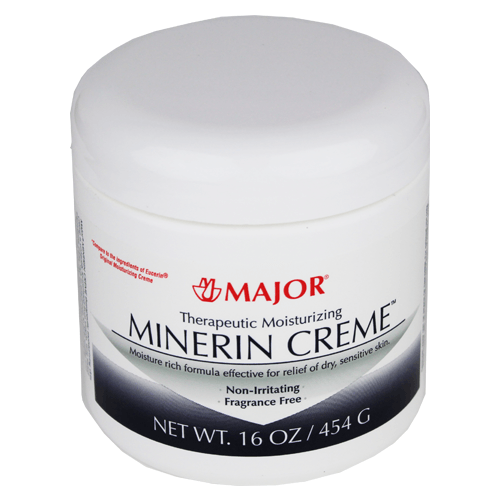 Therapeutic Moisturizing Minerin Cream 16 oz Jar