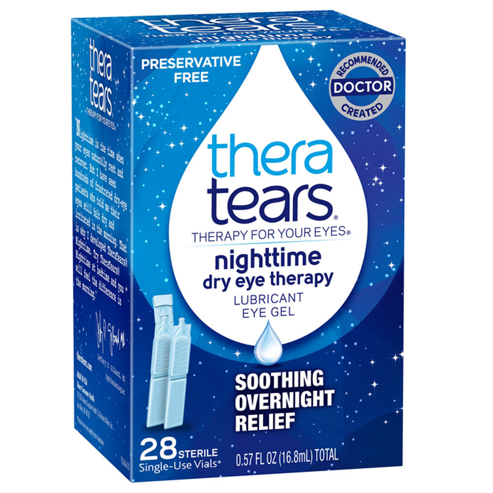 Buy Theratears Nighttime Dry Eye Lubricating Eye Drops, 28 Vials online used to treat Lubricant Eye Drops - Medical Conditions