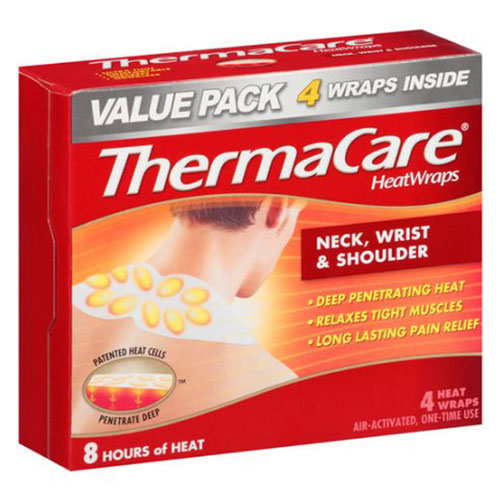 ThermaCare Heat Wraps for Neck Shoulder and Wrist
