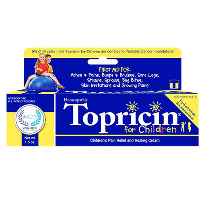 Buy Topricin Junior Children's Pain Relief and Healing Cream, 1.5 oz by Topricin | Home Medical Supplies Online
