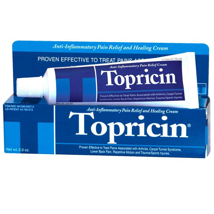 Buy Topricin Anti-inflammatory Pain Relief Cream by Topricin | Home Medical Supplies Online
