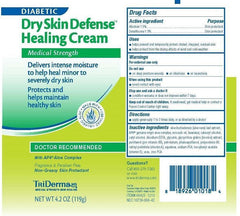 Buy TriDerma Diabetic Dry Skin Defense Healing Cream online used to treat Diabetic Skin Care - Medical Conditions