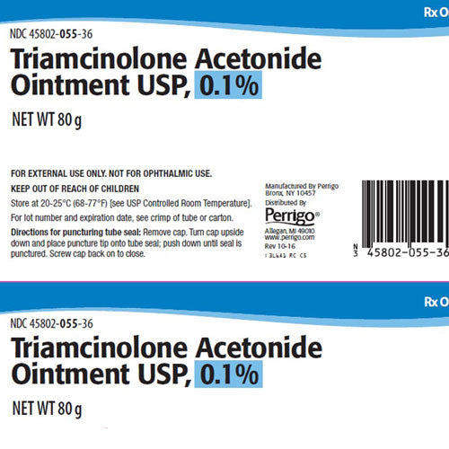 Buy Triamcinolone Acetonide 0.1% Topical Ointment 80 Gram