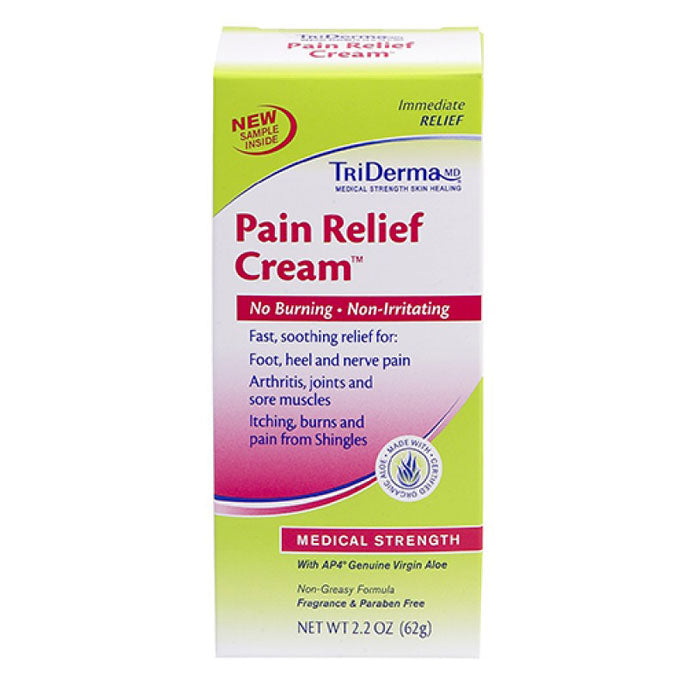 Buy Triderma Pain Relief  and Itch Relief Cream online used to treat Analgesic Joint & Muscle - Medical Conditions