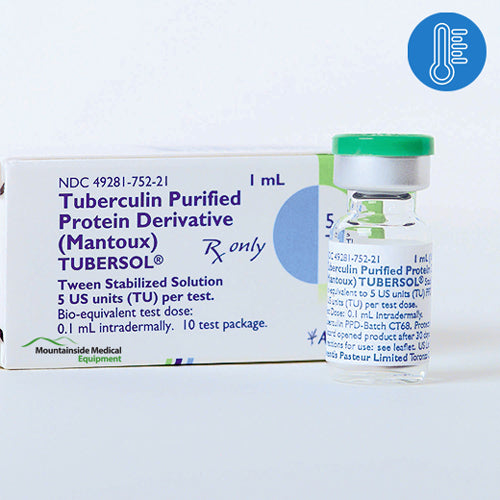 Tubersol Tuberculin Purified Protein Derivative (Mantoux) 1 mL (10 Tests) - Tuberculin Vaccine - Mountainside Medical Equipment