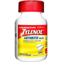Buy Tylenol 8 Hour Arthritis Pain Relief Extended Release Caplets, 650 mg online used to treat Arthritis Pain Relief - Medical Conditions