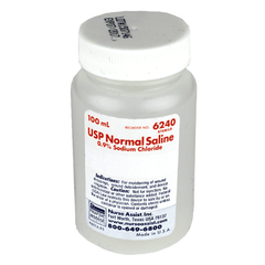 Buy Normal Saline Solution for Irrigation 100 ml by Nurse Assist from a SDVOSB | IV & Irrigation