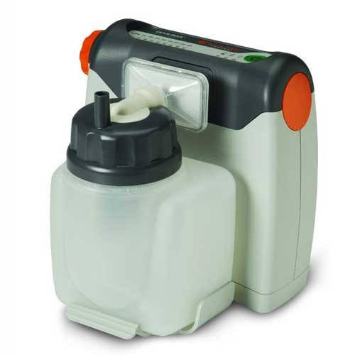 Vacu-Aide Compact Suction Machine w/Reusable Bottle and Supplies
