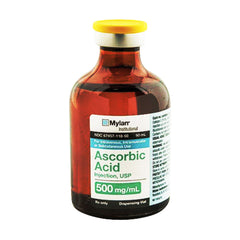 Buy Vitamin C (Ascorbic Acid) injection 500 mg Vial online used to treat Vitamin C Shot - Medical Conditions