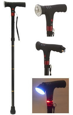 Buy Foldable Walking Cane used for Canes by Personal Safety Corporation