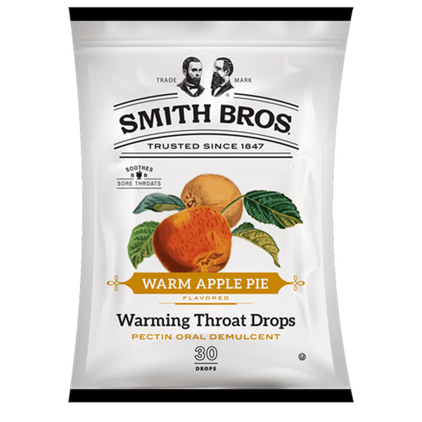 Warm Apple Pie Throat Drops, 30/Bag