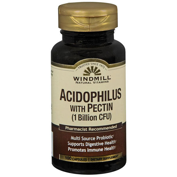 Buy Windmill Natural Probiotic Acidophilus with Pectin 1 Billion CFU online used to treat Probiotic - Medical Conditions