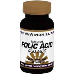 Buy Windmill Folic Acid 400 mcg Tablets, 180 Bottle by Windmill from a SDVOSB | Anemia Treatment