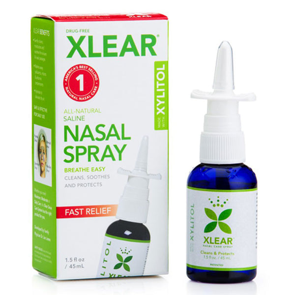Xlear Natural Nasal Spray with Xylitol for Sinus Pressure Relief