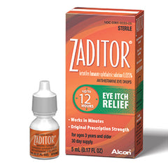 Buy Zaditor Eye Itch Relief Ophthalmic Solution 0.025% online used to treat Eye Itch Relief Drops - Medical Conditions