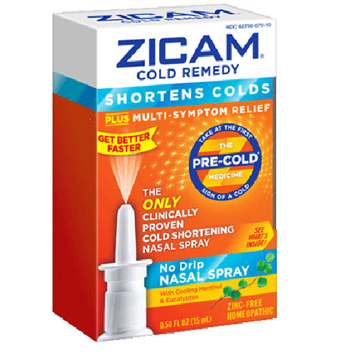 Buy Zicam Cold Remedy Nasal Spray Homeopathic online used to treat Cold Relief Nasal Spray - Medical Conditions