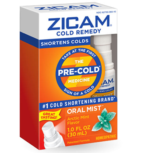 Zicam Cold Remedy Oral Mist Spray with Arctic Mint Flavor