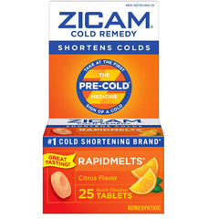 Buy Zicam Cold Remedy Rapid Melts with Vitamin C online used to treat Cold Remedy Medicine - Medical Conditions