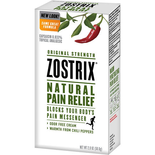 Buy Zostrix Original Strength Arthritis Pain Relief Cream, 2 oz with Coupon Code from Hi-Tech Pharma Sale - Mountainside Medical Equipment