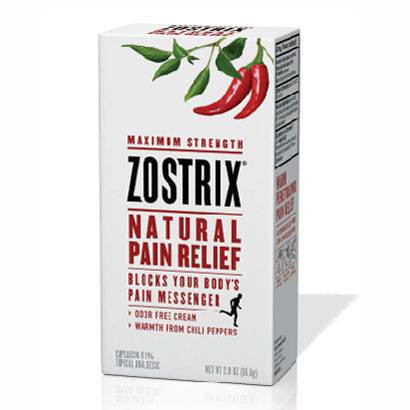 Zostrix High-Potency Arthritis Pain Relief Cream, Triple Strength, 0.1% Capsaicin - Arthritis - Mountainside Medical Equipment