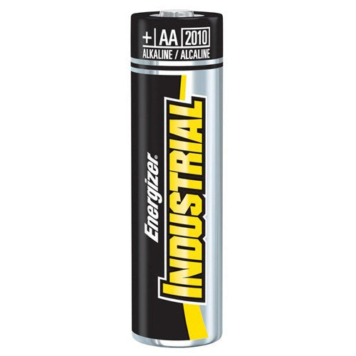 AA Energizer Industrial Alkaline Batteries, 4 Pack for Power Sources by Energizer Battery | Medical Supplies
