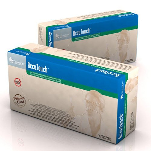 Tillotson AccuTouch Latex Exam Gloves