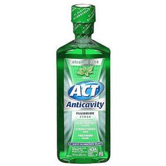 Buy ACT Anticavity Fluoride Mouth Rinse Mint 18 oz online used to treat Personal Care & Hygiene - Medical Conditions