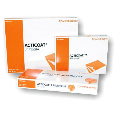 Acticoat 7 Day Silver Wound Dressings, 5/Box - Antimicrobial Dressings - Mountainside Medical Equipment