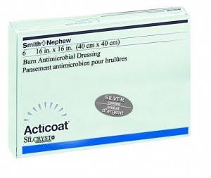 Acticoat Burn Antimicrobial Dressing for Antimicrobial Dressings by Smith & Nephew | Medical Supplies