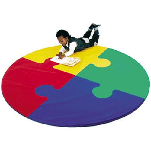 Colored Activity Floor Mats For Kids - Sensory Stimulation Activities - Mountainside Medical Equipment