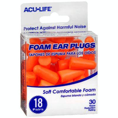 Buy Foam Ear Plugs (18 Pair) online used to treat Ear Supplies - Medical Conditions