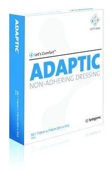 "Adaptic Non-Adhering Dressings 5 x 9"" (12/Box) - Non Adherent Dressings - Mountainside Medical Equipment"