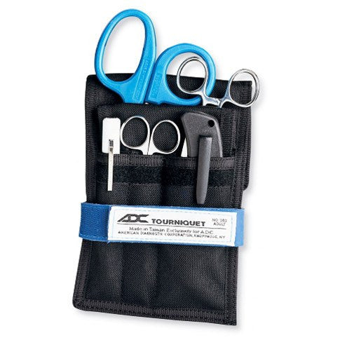 First Responder Emergency Belt Holster Set with Supplies - Emergency Tools - Mountainside Medical Equipment