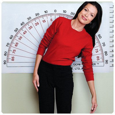 Adjustable Wall Goniometer - Physical Therapy - Mountainside Medical Equipment