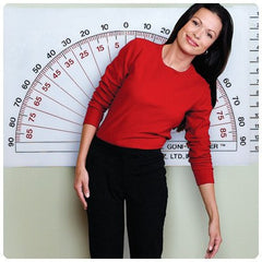 Buy Adjustable Wall Goniometer by Fabrication Enterprises online | Mountainside Medical Equipment