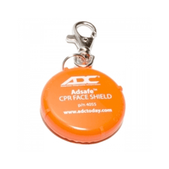 Adsafe CPR Face Shield with Key Chain Clasp for CPR Masks & Supplies by ADC | Medical Supplies