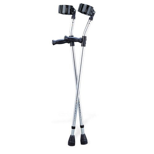 Adult Aluminum Forearm Crutch - Physical Therapy - Mountainside Medical Equipment