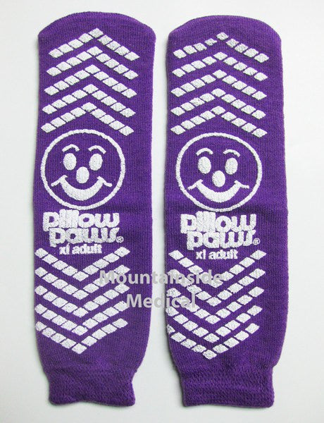 Buy Adult Non Skip Slipper Socks Purple by Tranquility | Home Medical Supplies Online