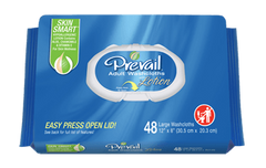 Buy Prevail Adult Washcloth Wipes 48 Pack by First Quality Enterprises | SDVOSB - Mountainside Medical Equipment