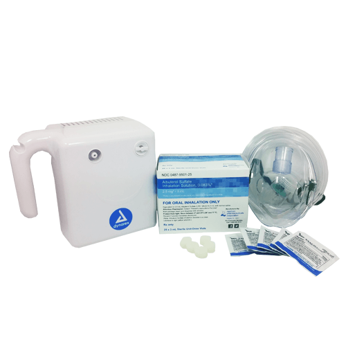 Asthma Treatment Starter Kit for Adults for Nebulizers & Accessories by Mountainside Medical Equipment | Medical Supplies